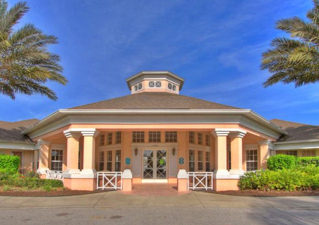 Windsor Palms Clubhouse Front View